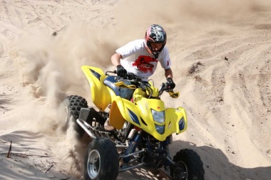 Suzuki LTZ 400 - Video Test Offroad