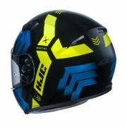 HJC CS-15 Martial Black/Blue/Yellow