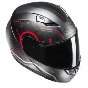 HJC CS-15 SAFA BLACK/RED