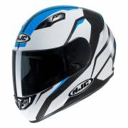 HJC CS-15 SEBKA BLACK/WHITE/BLUE