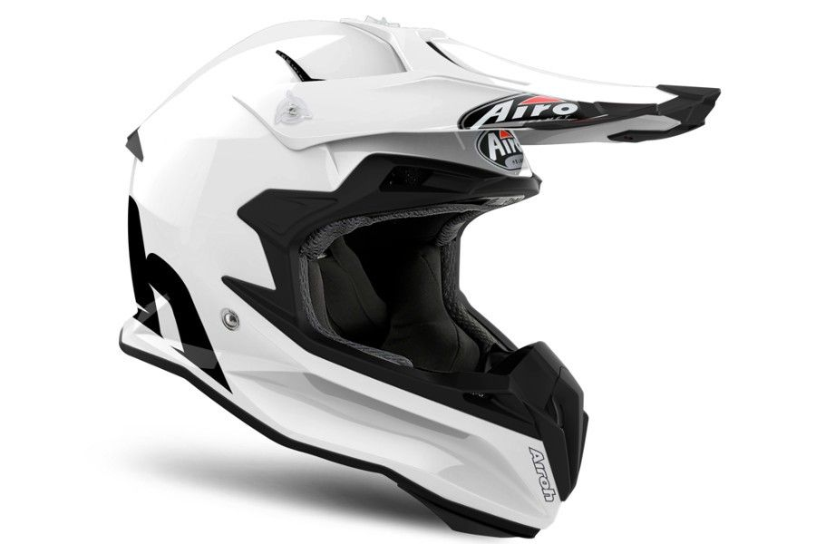 Kask Airoh Terminator Open Vision Biały