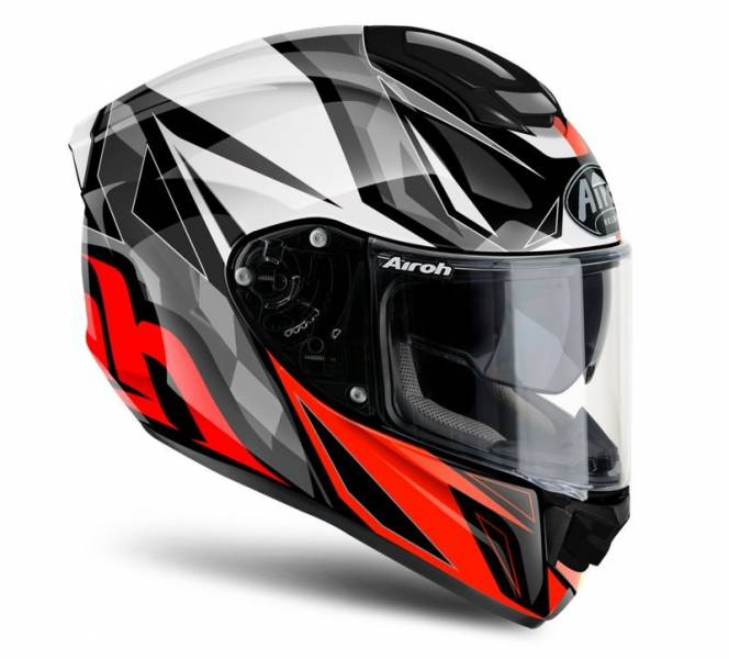 Kask Airoh ST501 THUNDER RED GLOSS