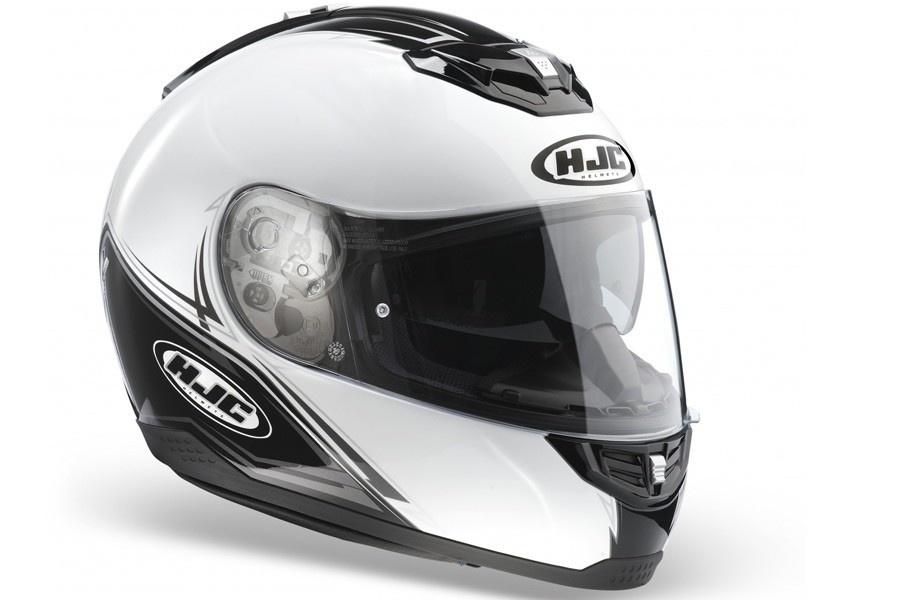 Integralny kask motocyklowy