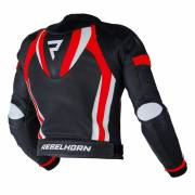 Kurtka Rebelhorn PISTON II Pro BLACK/WHITE/FLO RED