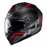 Kask HJC C70 TROKY BLACK/RED