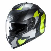 Kask HJC C70 VALON BLACK/FLO GREEN