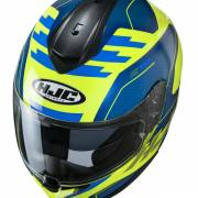 Kask HJC C70 KORO BLUE/FLO YELLOW