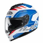 Kask HJC C70 KORO WHITE/BLUE/RED