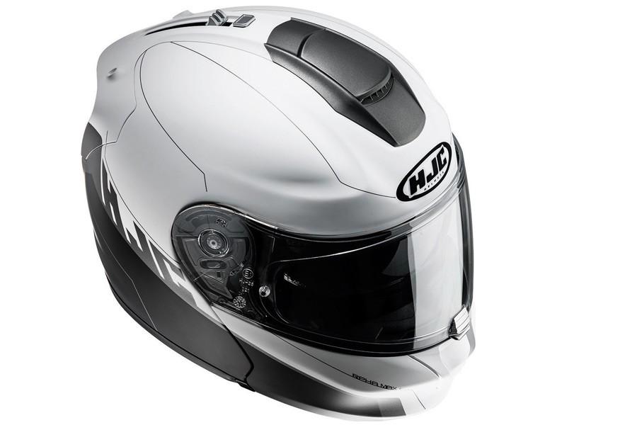 Szczękowy turystyczny kask motocyklowy HJC
