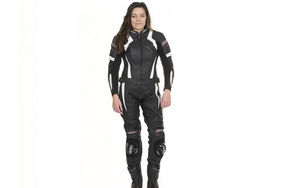 Skórzana sportowa damska kurtka motocyklowa