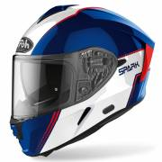 Kask Airoh Spark FLOW BLUE/RED GLOSS