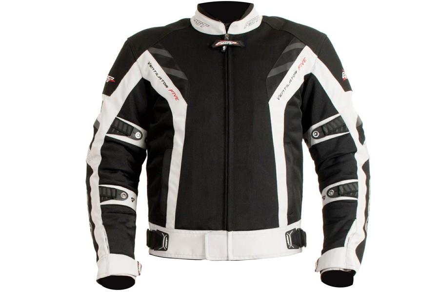 Tekstylna letnia kurtka motocyklowa
