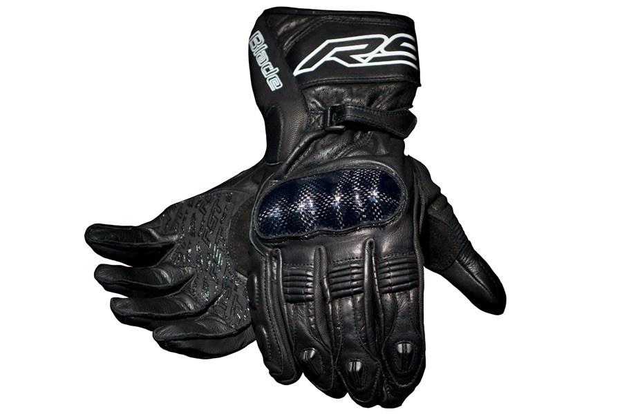 Rękawice motocyklowe skórzane sportowe szosowe drogowe