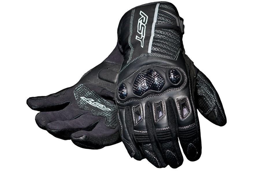 Rękawice motocyklowe lekkie, tekstylne