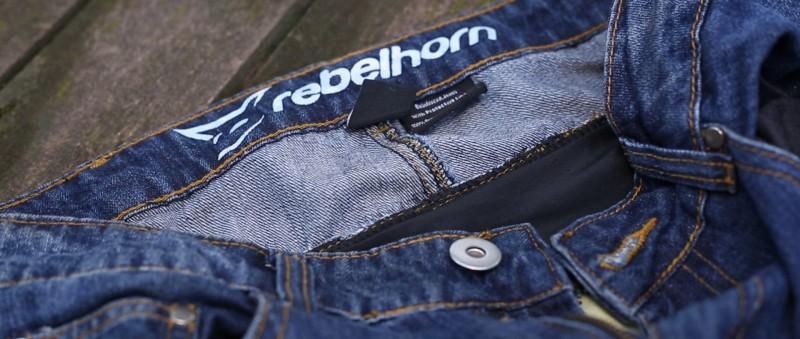 dżinsy damskie rebelhorn