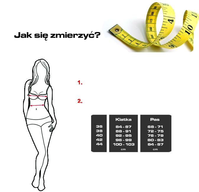 Rozmiary Kurtek 4SR dla Kobiet