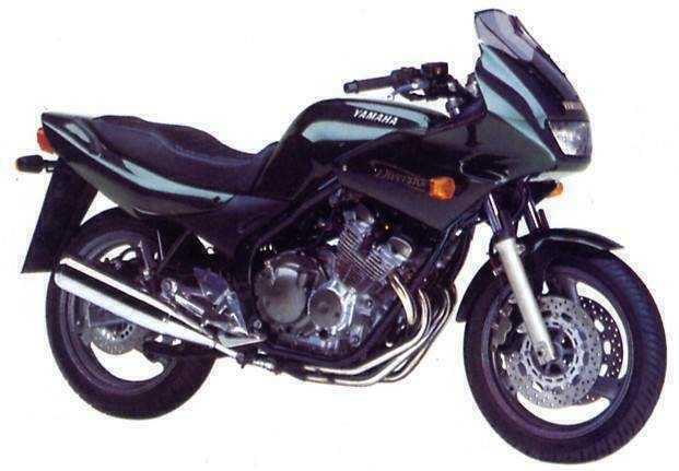 yamaha xj 600 diversion s 1992 1998. Black Bedroom Furniture Sets. Home Design Ideas