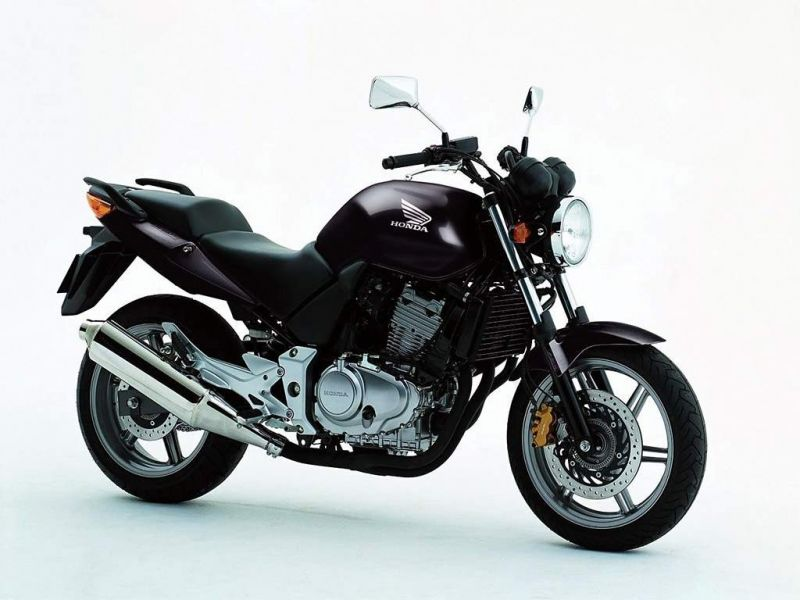 Honda CBF500 Metallic Black