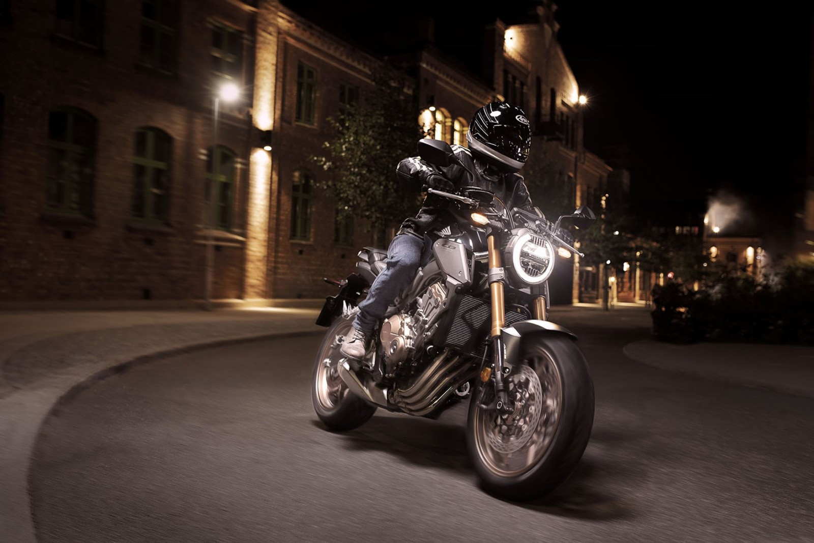 Hjc Fg 17 >> Honda CB 650R (2019)